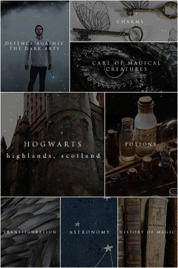 Hogwarts Classes Aesthetic By Sophie Boughton Befunky Photo Editor