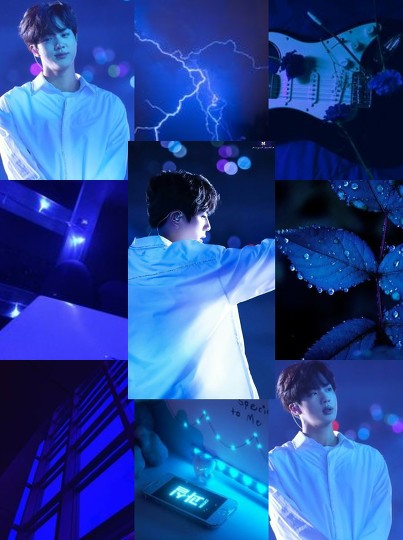 Kim Seokjin Aesthetic By Kookiesandcreamღ Befunky Photo Editor